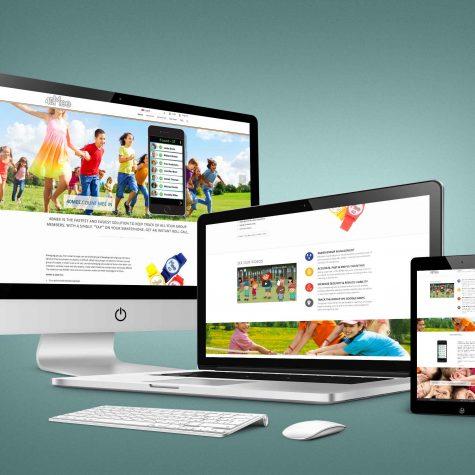 עיצוב אתר רספטנסיבי עבור סטארטאפ